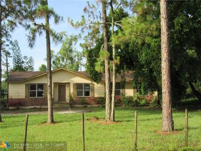 Loxahatchee Single Family Home For Sale: 16086 E Trafalgar Dr