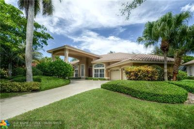 Coral Springs Single Family Home Backup Contract-Call LA: 12177 NW 9 Drive