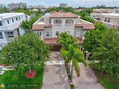 Fort Lauderdale Condo/Townhouse For Sale: 2616 NE 14 #7