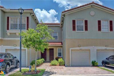 Tamarac Condo/Townhouse Backup Contract-Call LA: 5810 E Hampton Hills Blvd #5103