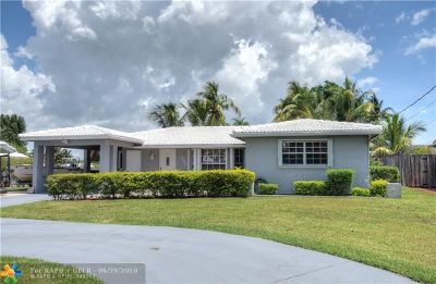 Fort Lauderdale Single Family Home For Sale: 1731 NE 64th St