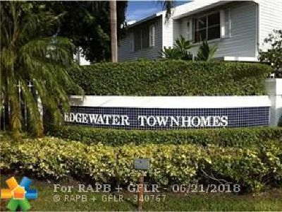 Fort Lauderdale Condo/Townhouse For Sale: 1933 NE 15th Ave #1933