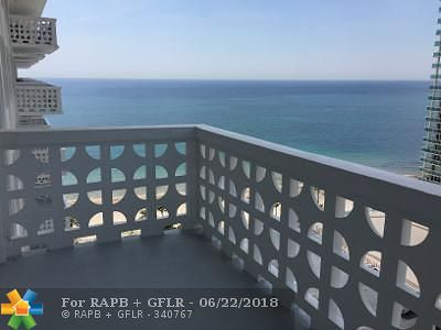 Fort Lauderdale Condo/Townhouse For Sale: 4010 Galt Ocean Dr #1611