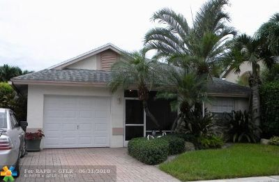 Sunrise Single Family Home For Sale: 12269 NW 31st St