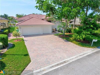 Coral Springs FL Single Family Home For Sale: $489,900