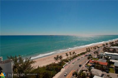 Fort Lauderdale Condo/Townhouse For Sale: 1901 N Ocean Blvd #S-16C