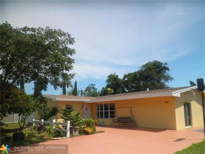 Fort Lauderdale Single Family Home For Sale: 1210 NW 46th Ct