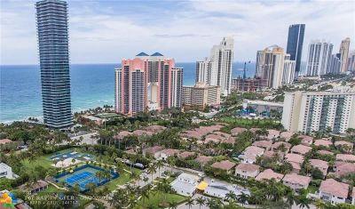 Sunny Isles Beach Single Family Home For Sale: 3988 194 Lane