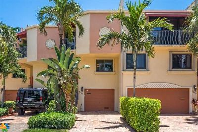 Fort Lauderdale Condo/Townhouse For Sale: 3060 NE 49th St #4