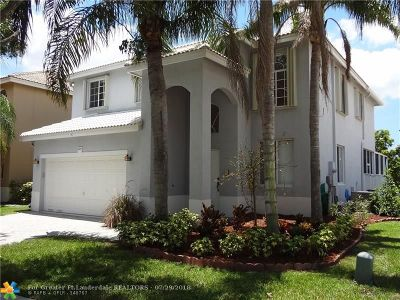 Coconut Creek Single Family Home For Sale: 6525 Sandpiper Dr