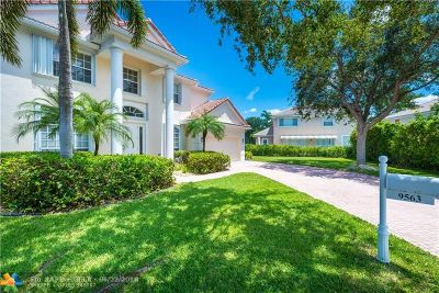 Coral Springs Single Family Home Backup Contract-Call LA: 9563 NW 52nd Ct