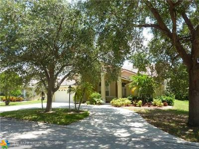 Coral Springs Single Family Home For Sale: 5365 NW 107th Ave
