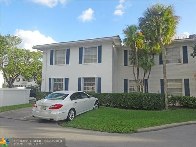 Fort Lauderdale Condo/Townhouse For Sale: 2260 NE 67th St #1731