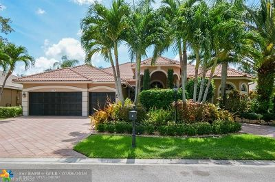 Coral Springs Single Family Home For Sale: 6178 NW 124th Dr