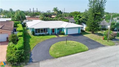 Fort Lauderdale Single Family Home For Sale: 5270 NE 17th Ave