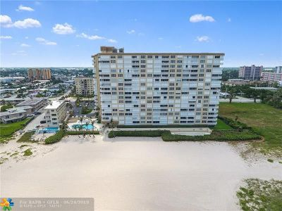 Pompano Beach Condo/Townhouse For Sale: 1012 N Ocean Blvd #208