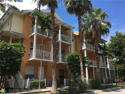 Fort Lauderdale Condo/Townhouse For Sale: 1334 SW 3rd Ct #1334