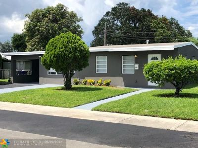 Pompano Beach Single Family Home For Sale: 1504 NW 3rd Way