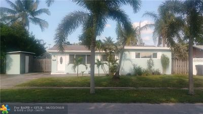 Fort Lauderdale Single Family Home For Sale: 1760 SW 36th Ter