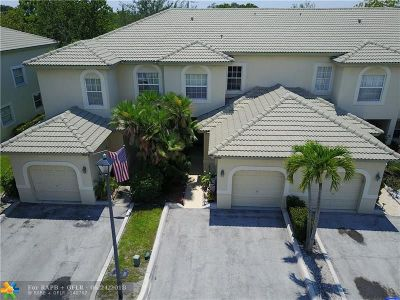 Coral Springs Condo/Townhouse For Sale: 9581 NW 28th St #9581