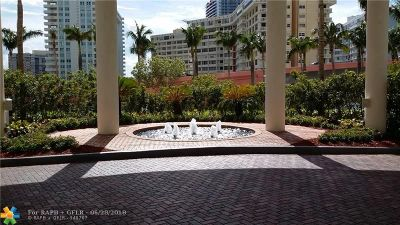 Hallandale Condo/Townhouse For Sale: 1830 S Ocean Dr #2209