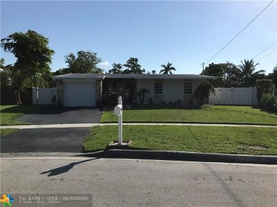 Margate Single Family Home Backup Contract-Call LA: 1812 W W River Dr