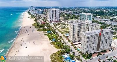 Pompano Beach Condo/Townhouse For Sale: 201 N Ocean Blvd #711