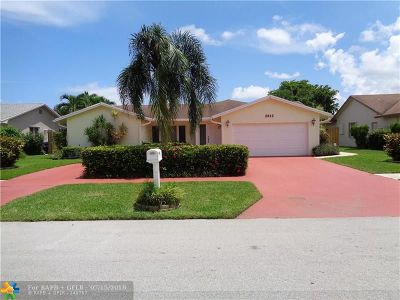 Deerfield Beach Single Family Home For Sale: 2812 SW 13th Ct