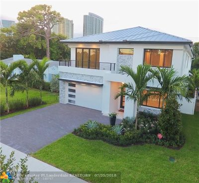 Fort Lauderdale FL Single Family Home For Sale: $1,895,000