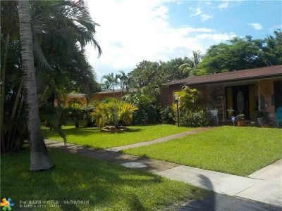 North Lauderdale Single Family Home Backup Contract-Call LA: 6851 SW 8th St