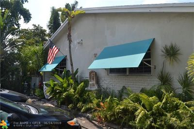 Fort Lauderdale FL Multi Family Home For Sale: $450,000