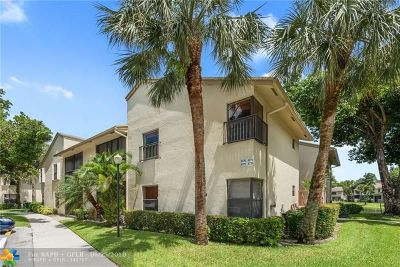Coconut Creek Condo/Townhouse For Sale: 4775 NW 22nd St #4775