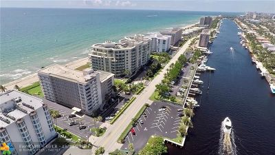 Hillsboro Beach Condo/Townhouse For Sale: 1063 Hillsboro Mile #208