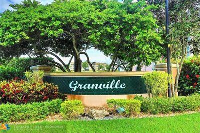 Tamarac Condo/Townhouse For Sale: 7668 Granville Drive #311