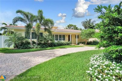 Coral Ridge, Coral Ridge 21-50 B, Coral Ridge Add, Coral Ridge Country Club Single Family Home For Sale: 2640 NE 35th Dr