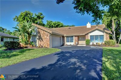Coral Springs Single Family Home Backup Contract-Call LA: 10564 NW 3rd Pl