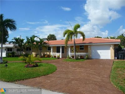 Lighthouse Point Single Family Home For Sale: 3265 NE 28th Ave