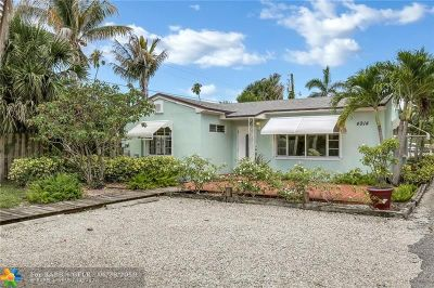 West Palm Beach Single Family Home For Sale: 4914 N Flagler Dr
