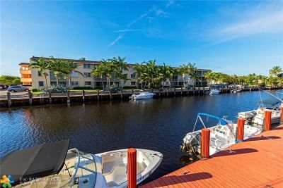 Lighthouse Point Condo/Townhouse For Sale: 2109 NE 44th Street #5