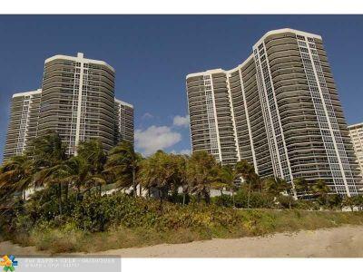 Condo/Townhouse For Sale: 3200 N Ocean Blvd #1406