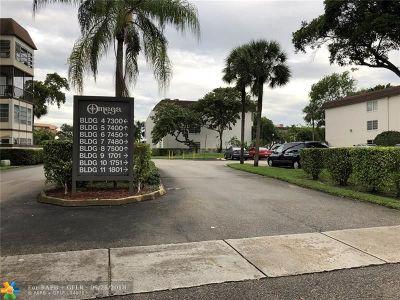 Plantation Condo/Townhouse For Sale: 7480 NW 17th St #307