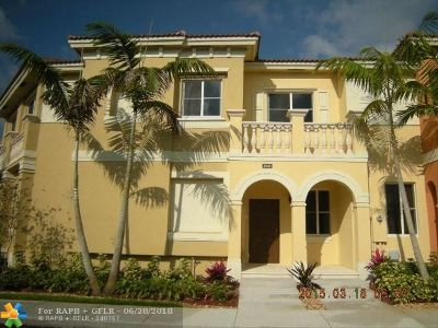 Miramar Condo/Townhouse For Sale: 1848 SW 89th Ter #1848