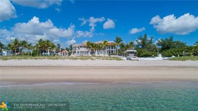 Single Family Home For Sale: 1635 N Fort Lauderdale Beach Blvd