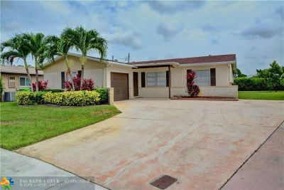 Sunrise Single Family Home Backup Contract-Call LA: 11311 NW 39th Pl