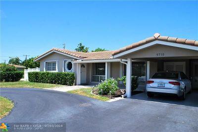 Fort Lauderdale Single Family Home For Sale: 5710 NE 21st Dr