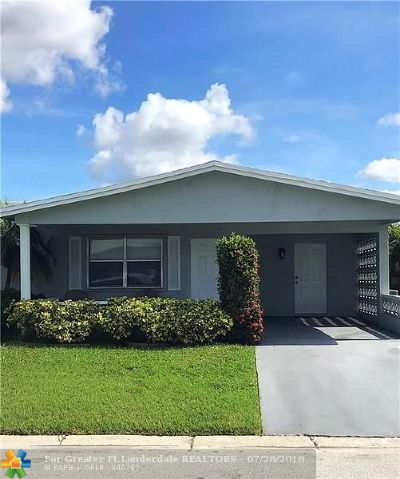 Margate Single Family Home For Sale: 6665 NW 12th St
