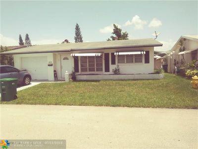Tamarac Single Family Home For Sale: 4929 NW 55 St