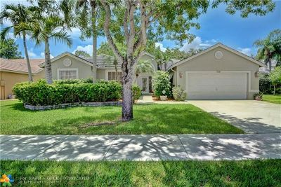Coconut Creek Single Family Home For Sale: 7341 NW 44th Ln