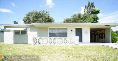 Broward County Single Family Home For Sale: 2018 N 58th Ave