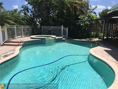 Lauderdale Isles Single Family Home For Sale: 2618 Marathon Ln